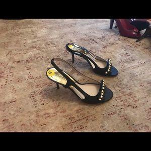Brand new Michael Kors navy slingback sandal